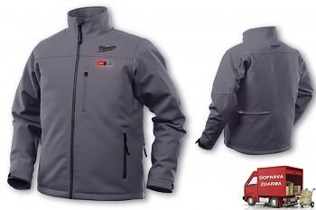 Aku vyhřívaná bunda Milwaukee Premium M12 HJ GREY4-0 (XXL) šedá