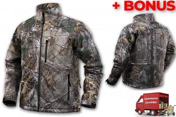 Aku vyhřívaná bunda Milwaukee Premium M12 HJ CAMO4-0 (S) maskovací