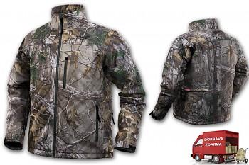 Aku vyhřívaná bunda Milwaukee Premium M12 HJ CAMO4-0 (M) maskovací
