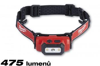 Alkalická svítilna čelovka LED Milwaukee HL-LED