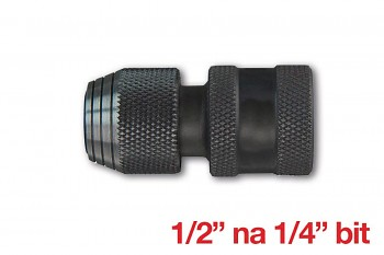 "Adaptér Milwaukee 1/2"" na 1/4"" bit"