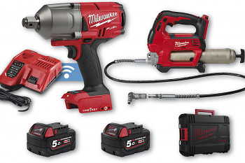 START set E4 Milwaukee M18 ONEFHIWF34 + M18 GG + 2x aku 5 Ah