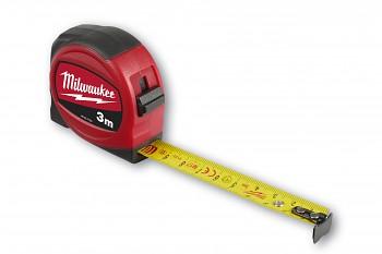Svinovací metr Slimline 3m/16mm Milwaukee