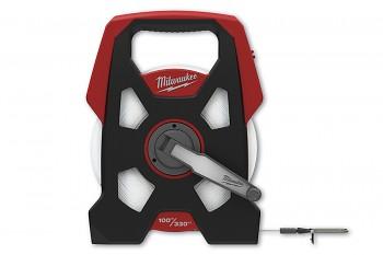 Profesionální pásmo 100m/9,5mm kovové Milwaukee