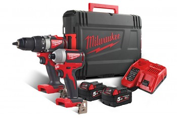POWERPACK Milwaukee M18 BLPP2B2-502X