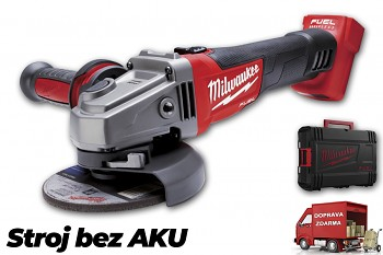 Aku úhlová bruska Milwaukee M18 CAG 125X-0X FUEL