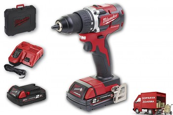 Milwaukee M18 CBLDD-202C Brushless