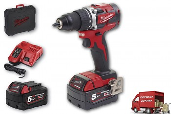 Milwaukee M18 CBLDD-502C Brushless