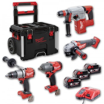 POWERPACK Milwaukee M18 FPP4A-503P FUEL Packout