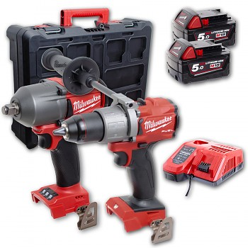 POWERPACK Milwaukee M18 FPP2E2-502P FUEL Packout