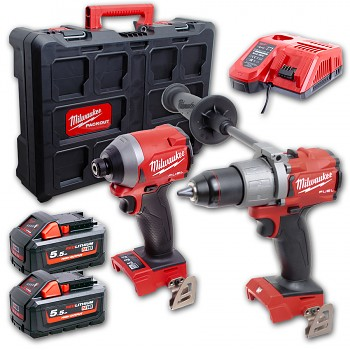 POWERPACK Milwaukee M18 FPP2A2-552P FUEL Packout