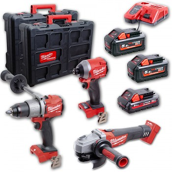 POWERPACK Milwaukee M18 FPP302-533P FUEL Packout