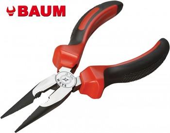Kleště půlkulaté rovné 150 mm BAUM dvoukompozitní rukojeti