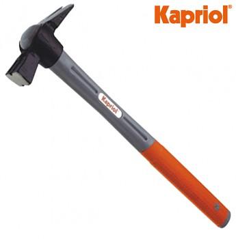 Kladivo stavební tesařské PROGRIP s magnetem 300 g / 500 mm KAPRIOL